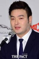 [TF포토] 박병호의 인사말