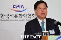 [TF포토] 건배 제의하는 박진수 LG화학 부회장