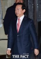 [TF포토] 윤용암 삼성증권 사장 '분홍색 넥타이로 포인트'
