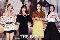 [TF포토] 서인영-유다인-유인나-장나라, 걸그룹 '엔젤스' 많이 사랑해주세요!