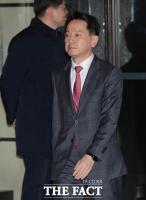 [TF포토] 원기찬 사장 '신임 임원 만찬 참석'