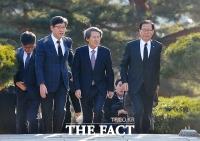[TF포토] 김구 선생 묘역 찾은 국민의당 한상진 위원장