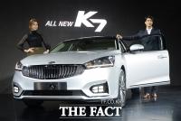 [TF포토] 기아차, 'K7'의 풀체인지 모델 7년만에 출시'