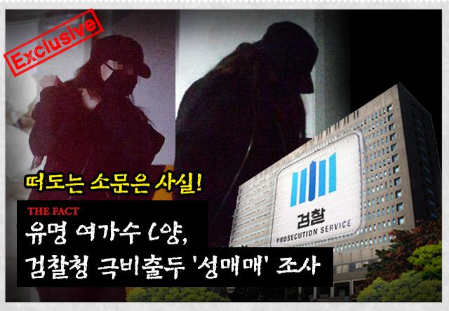 여가수 C양, 검찰 극비 소환 조사. /그래픽=손해리 기자
