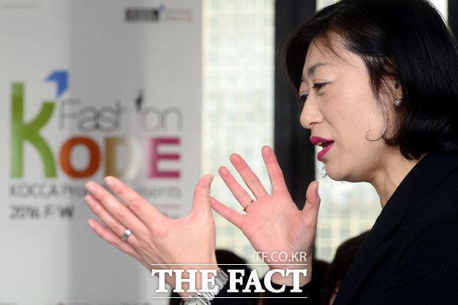 아시아 최대 패션 마켓으로 성장한 패션코드 설명하는 지경화 한국콘텐츠진흥원 콘텐츠2본부 음악패션산업팀장
