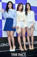 [TF포토] 시크릿 한선화-전효성-정하나, '봄을 입은 패션'