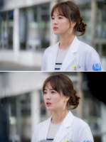 '태양의 후예' 송혜교, 슬픈 눈빛 담은 스틸…'시련 암시'