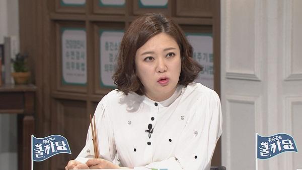 개그우먼 김숙이 배달 음식도 조리과정을 공개해야 한다고 주장해 눈길을 끈다./ 사진제공=tvN 곽승준의 쿨까당