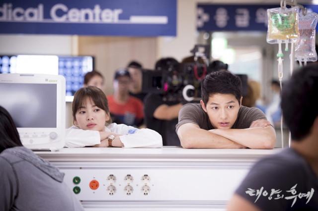 시청자들에게 사랑받은 드라마 '태양의 후예'. 이 작품은 최고 시청률 38.8%를 기록했다. /KBS 제공