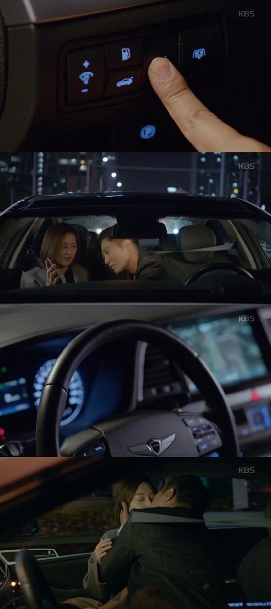 '태양의 후예' 13회에서 진행된 PPL. 해당 장면은 광고가 노골적이라는 이유로 비판을 받았다. /KBS2 '태양의 후예' 방송 화면 캡처