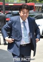 [TF포토] 백종원, 김정은 결혼식 참석...'반달 눈웃음'