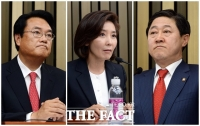 [TF사진관] 정진석-나경원-유기준, '내가 원내대표 적임자'
