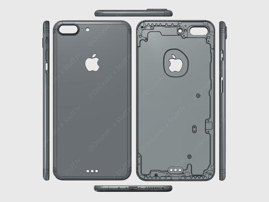 애플 차세대 스마트폰 아이폰7의 디자인과 사양에 대한 루머가 흘러나오고 있다. /스티브 헤머스토퍼 SNS 캡처