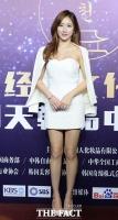 [TF사진관] 예정화, 콜라병 몸매에 중국도 '힐끔!'