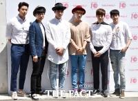 [TF포토] 2PM, '오래간만에 뭉친 완전체~'