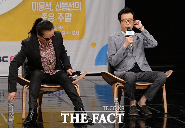 급 지친 허약체질(?) 김태원과 이윤석
