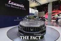 [TF사진관] '100년 만에 나왔다' 마세라티의 첫 SUV '르반떼' 국내 공개