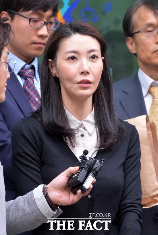성현아는 성매매 혐의에 대해 벌금 200만원을 내면 되는 약식 기소 처분을 받아들이지 않고 정식 재판을 청구, 무죄를 선고받았다. /문병희 기자