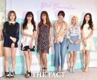 [TF포토] 소녀시대, 6인6색 개성만점 '서머룩'