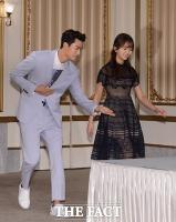 [TF사진관] 택연-김소현, '꿀 떨어지는 달달 커플!'