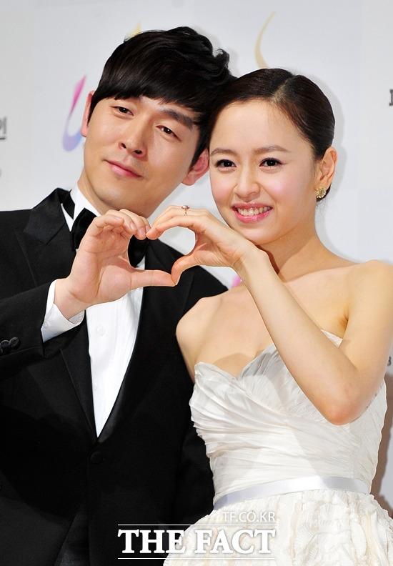 둘째를 얻은 김가온(왼쪽)과 강성연. 강성연은 지난달 29일 아들을 출산했다. /더팩트 DB