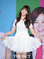 [TF포토] '새하얀 드레스' 매력 완전 '차오루'네~