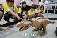 [TF포토] '창의력 쑥쑥'…발명 대국 대한민국 꿈꾸는 학생들
