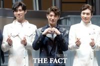 [TF포토] 뮤지컬 '페스트' 이끄는 핵심 트로이카