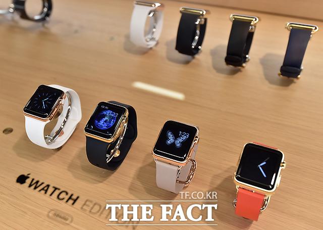 애플의 차세대 웨어러블 기기 '애플워치2'에  새로운 '원글래스솔루션(OGS)' 디스플레이가 적용될 예정이다. /이새롬 기자