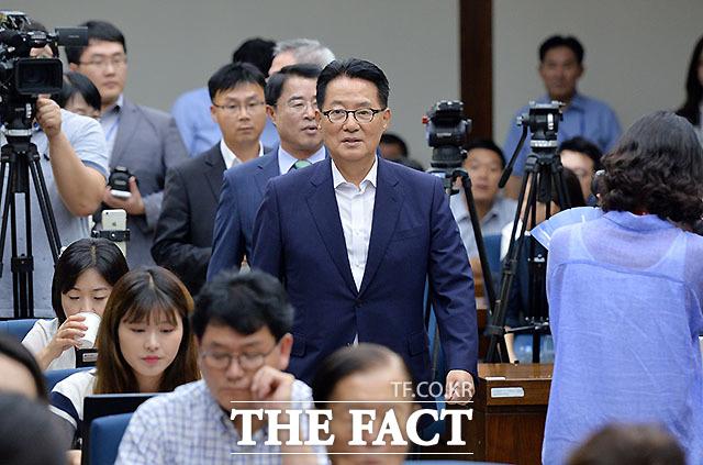박지원, 난 김대중 대통령 비서실장 출신