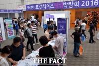[TF사진관] '억대 연봉' 창업 도전해볼까?'…프랜차이즈 창업 박람회