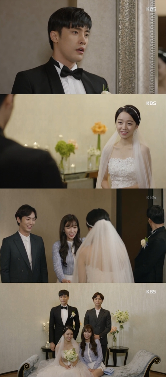 아이가 다섯 성훈♥신혜선 결혼. 두 사람은 달콤한 연애를 하다가 결혼했다. /KBS2 아이가 다섯 방송 화면 캡처