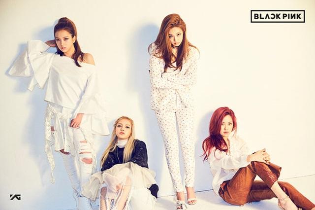 블랙핑크, 데뷔 2주일 만에 1위. 그룹 블랙핑크는 데뷔곡 휘파람으로 앨범 발매 14일, 방송출연 7일 만에 1위를 달성했다. /YG엔터테인먼트 제공