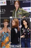 [TF포토] '알록달록' 시선 사로잡는 여신들의 '압구정 패션'