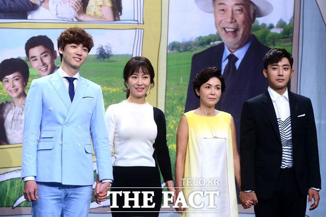 배우 장세현 김희정 금보라 손호준, 우리는 가족