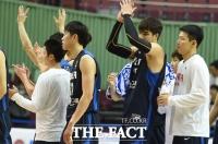[TF포토] 한국 男 농구, 튀니지 대파...모의고사 2연승
