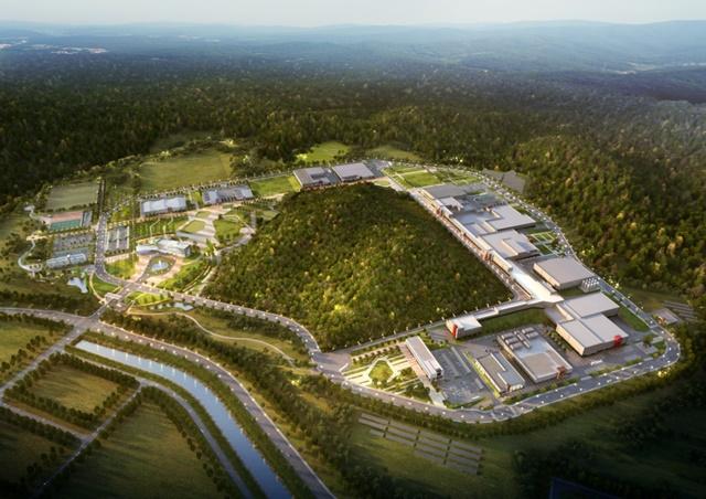 포스코건설은 2일 우리나라 과학기술분야 핵심시설이 될 한국형 중이온가속기 라온 시공사로 선정됐다고 밝혔다. /포스코건설 제공