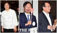 [TF포토] 박영선-천정배-노회찬, 참여연대 22주년 창립기념식 찾은 야당인사