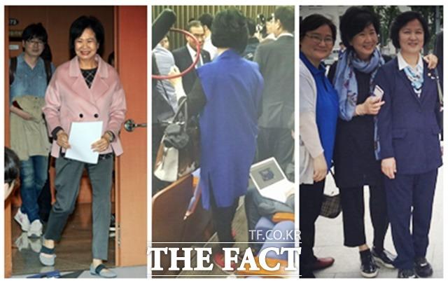 디자이너 출신인 손혜원 더민주 의원은 개원 전부터 다양한 패션 스타일로 눈길을 끌었다./임영무·신진환 기자, 손혜원 페이스북