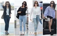 [TF사진관] 스타들의 이유 있는 공항패션, '그때마다 달라요!'
