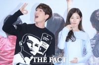[TF포토] 온유-정채연, '선남선녀의 군침 유발(?) 포즈'