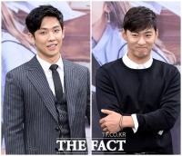 [TF포토] 이준-주진모, '14살 나이 차 무색한 매력남들'