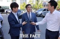 [TF포토] 이혼 항소심 참석하는 이부진 변호인