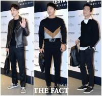 [TF사진관] '블랙이 대세!'…'김지석-이상우-하석진' 드레스 코드 맞춘 매력남들