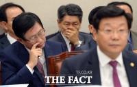 [TF포토] 누진제 질문에 고민스러운 조환익 한국전력사장