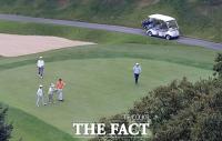 [TF포토] 김영란법 시행 첫 주말, '평소와 다름없어 보이는 골프장'