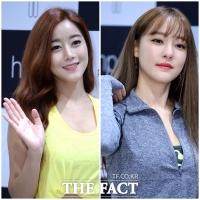 [TF포토] 고우리vs오승아, '레인보우 최고의 미모는?'