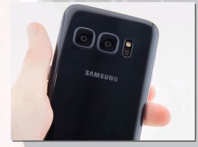 삼성전자가 내년 출시할 것으로 전망되는 갤럭시S8 엣지의 유출 영상이 누리꾼들의 주목을 받고 있다. /유튜브 캡처