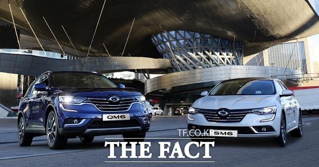 르노삼성은 프리미엄 중형 세단 SM6와 준대형 스포츠유틸리티차량(SUV) QM6의 선전으로 지난달 내수 시장 판매 대수에서 지난해 같은 기간과 대비해 40%가량 늘어난 9222대를 기록했다.