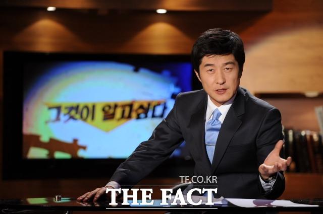 김상중은 지난 2008년부터 지금까지 SBS 시사교양프로그램 그것이 알고 싶다 MC를 맡아 오고 있다. /SBS 제공